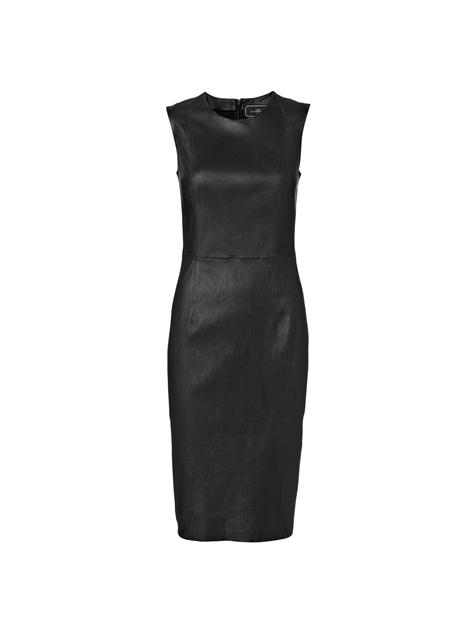 453325b9def8 Læder kjole · By Malene Birger